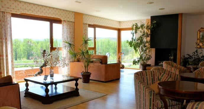 Zonas comunes del Hotel Conde de Badarán